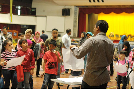 Painting Workshop conducted by Mr. Azizi