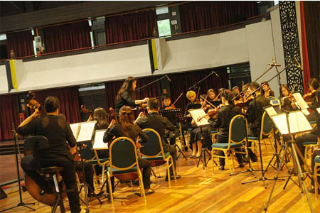 Orchestra Concert Performance from Music Department of Ecology Faculty UPM